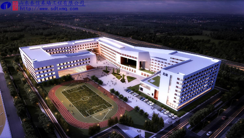 长春市十一高中北湖学校项目