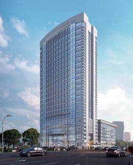 山东省印刷物资有限公司综合楼项目幕墙工程